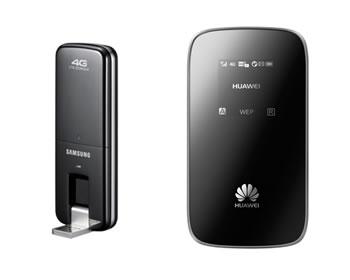 4G dongle internet